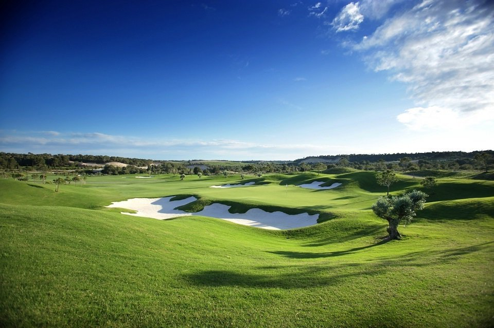Golf Course are the best in Spain